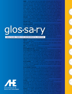 Glossary of Healthcare Terms for Environmental Services 2nd Edition