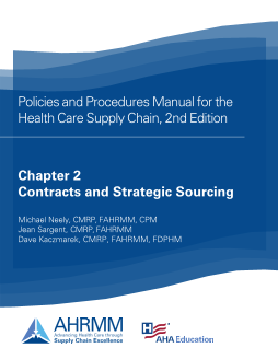 P&P Chapter 2 Contracts and Strategic Sourcing Policies and Resources, 2nd Ed.