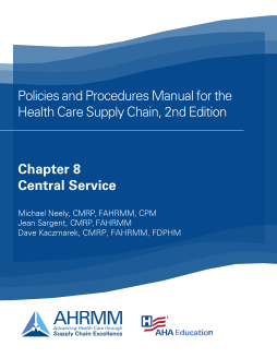 P&P Chapter 8 Central Service Policies and Resources, 2nd Ed.